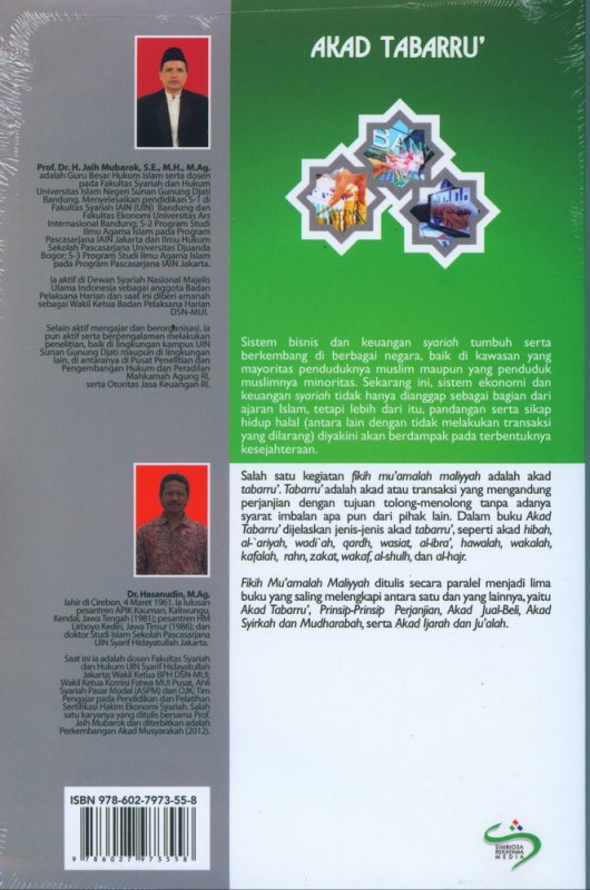 Cover Belakang Buku Fikih Muamalah Maliyyah: Akad Tabaru