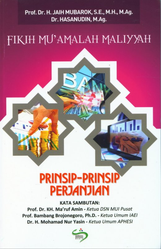 Cover Buku Fikih Muamalah Maliyyah: Prinsip-Prinsip Perjanjian