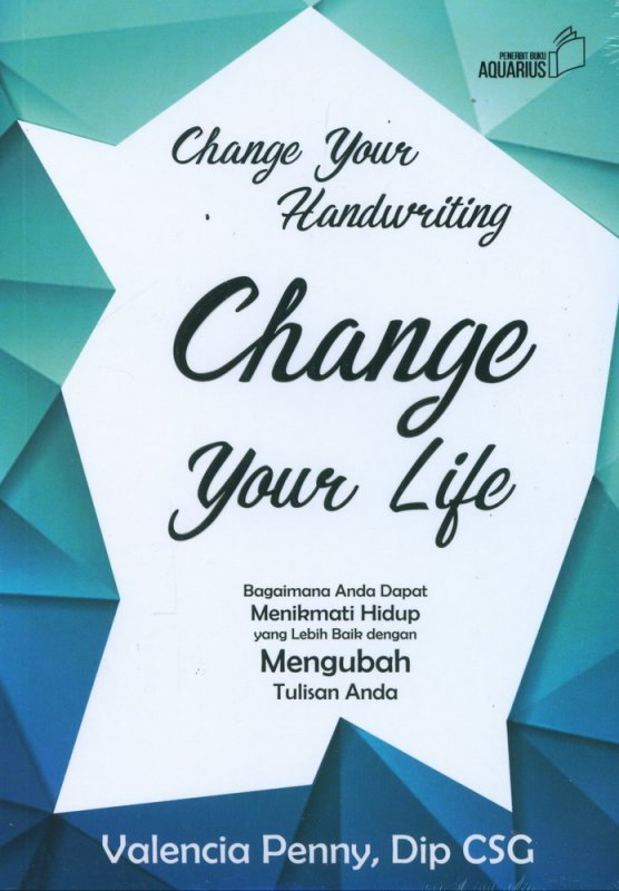 Cover Buku Change Your Handwriting Change Your Life