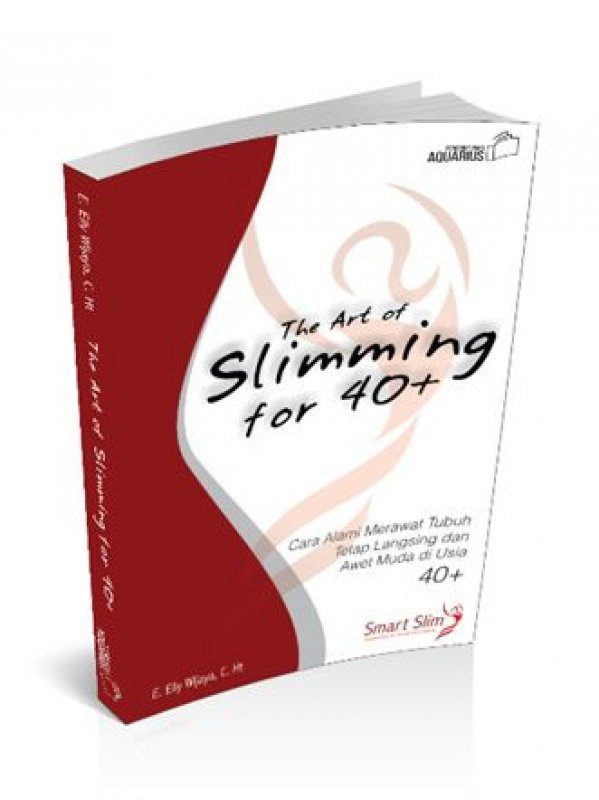 Cover Buku The Art of Slimming for 40+