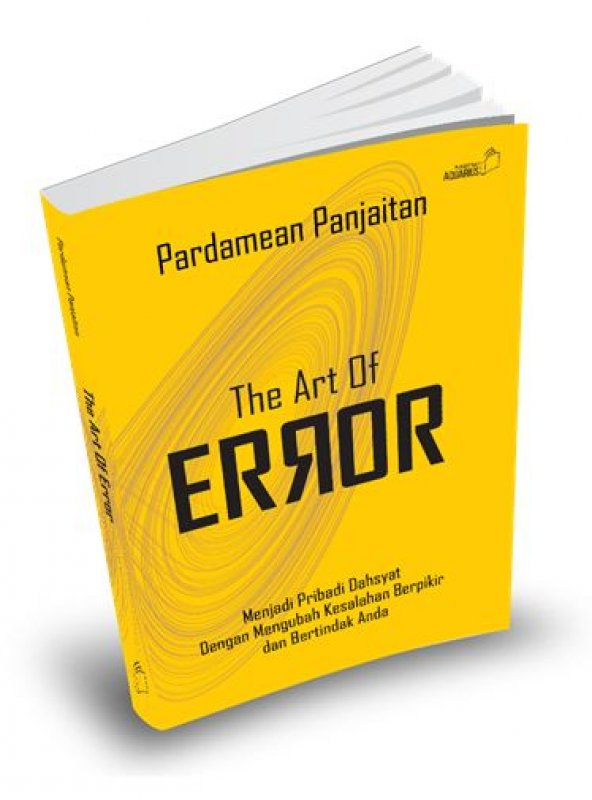 Cover Buku The Art Of Error