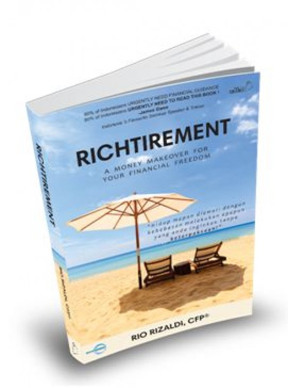 Cover Buku Richtirement : A Money Makeover For Your Financial Freedom