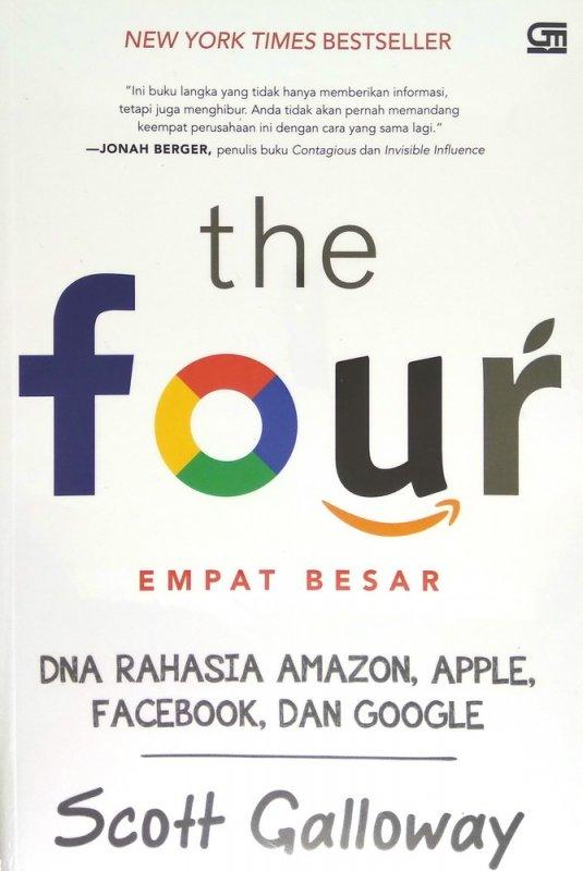 Cover Buku The Four: DNA Rahasia Amazon, Apple, Facebook, dan Google