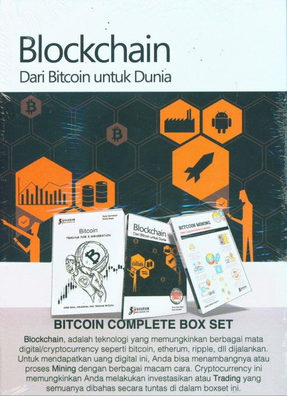 Cover Buku BITCOIN COMPLETE BOX SET