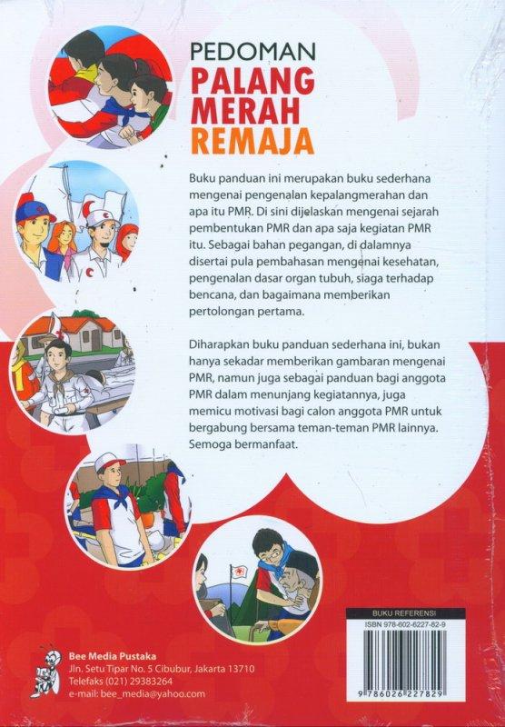 Cover Belakang Buku Pedoman Palang Merah Remaja