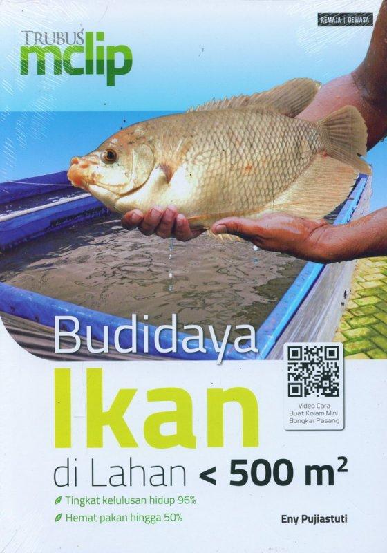 Cover Buku Budidaya Ikan di Lahan < 500 m2