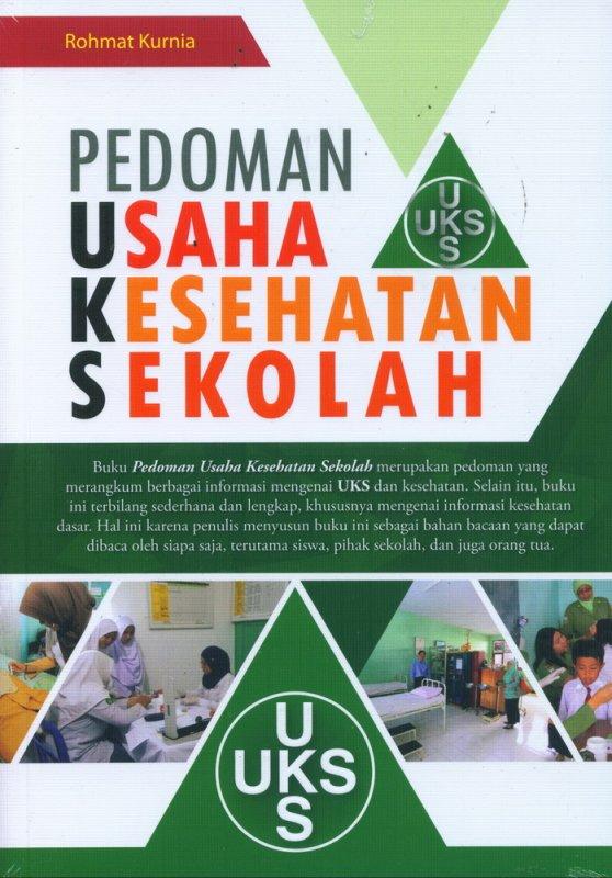 Cover Buku Pedoman Usaha Kesehatan Sekolah (UKS)