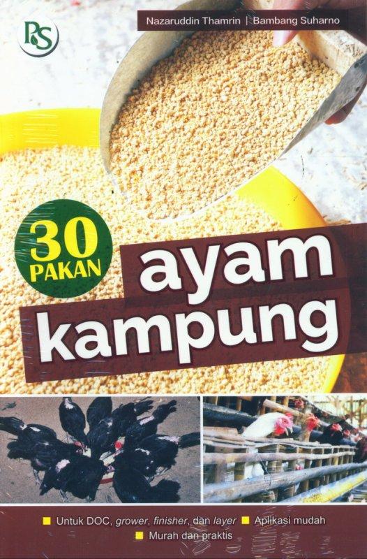 Cover Buku 30 Pakan Ayam Kampung