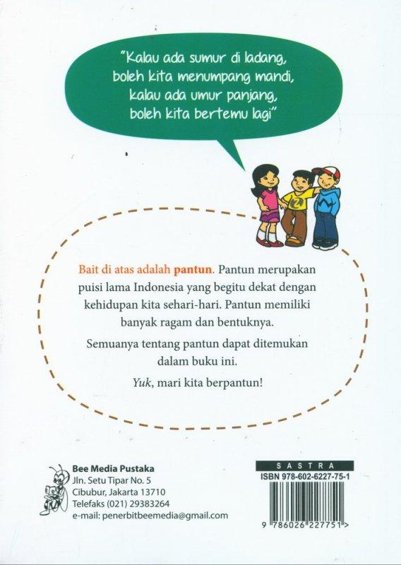 Cover Belakang Buku Khazanah Pantun Indonesia
