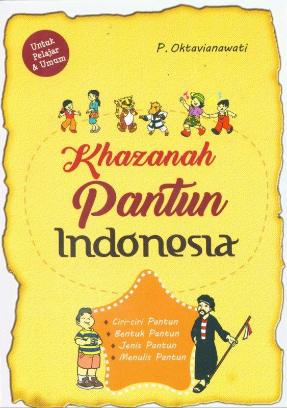 Cover Buku Khazanah Pantun Indonesia