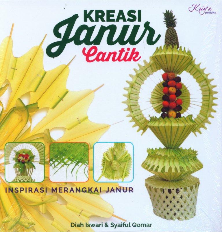 Cover Buku Kreasi Janur Cantik
