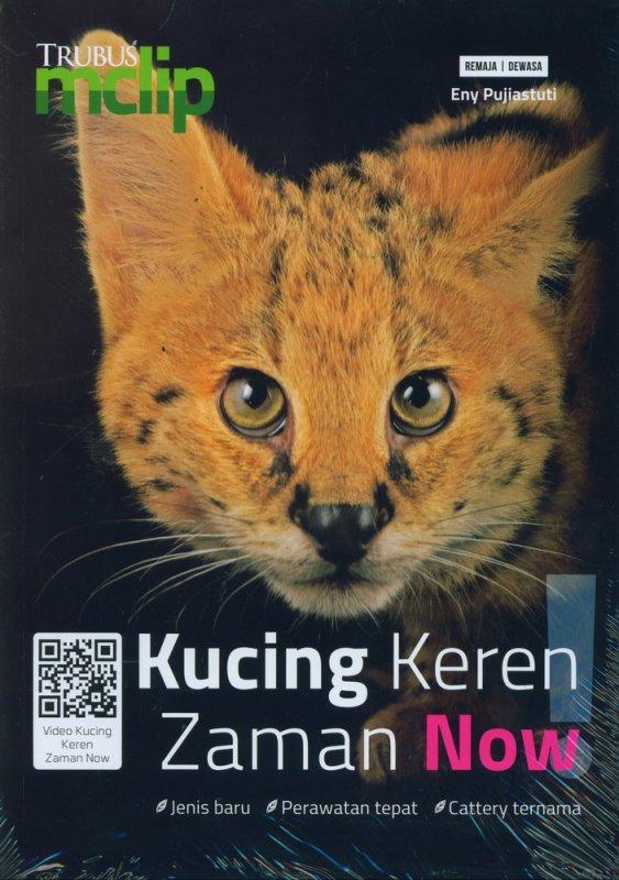 Cover Buku Kucing Keren Zaman Now