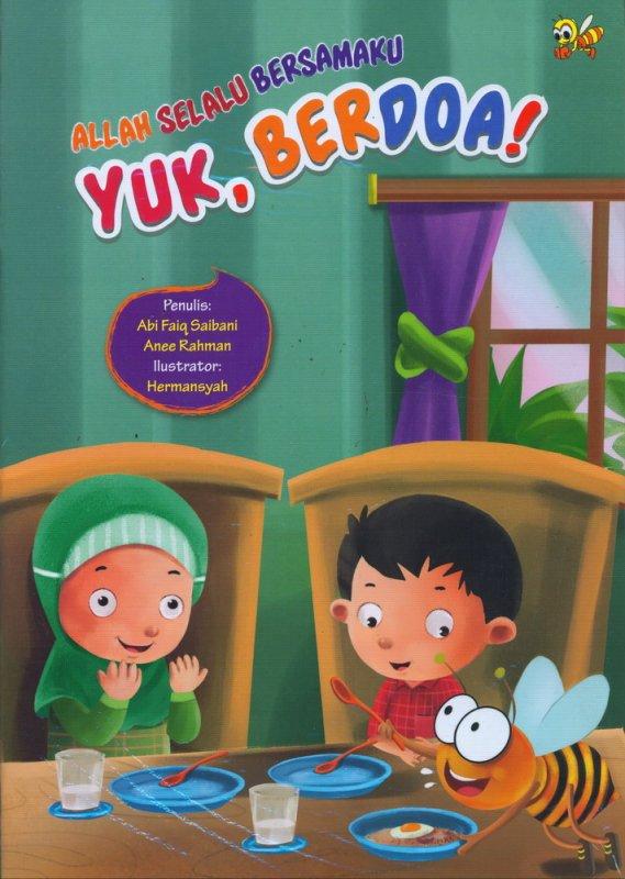 Cover Buku Allah Selalu Bersamaku: Yuk Berdoa