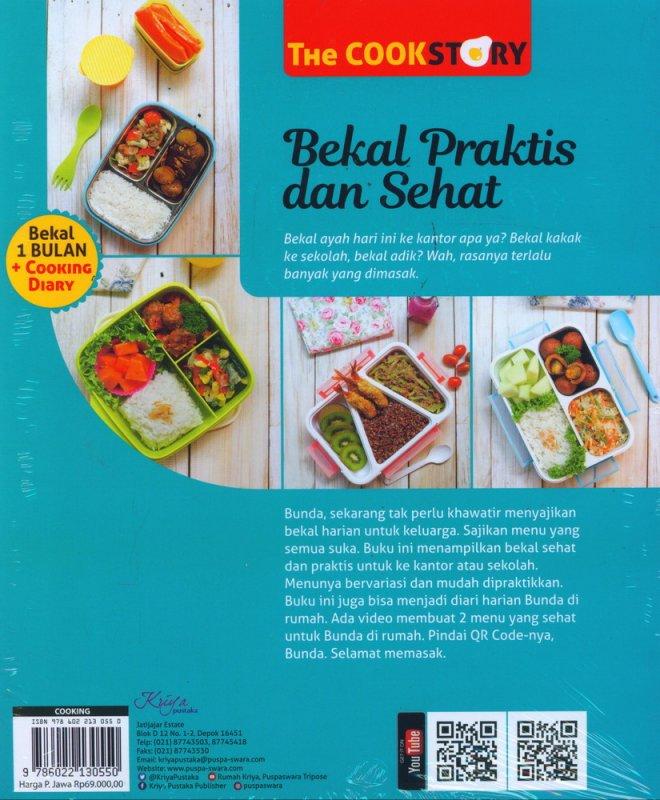Cover Belakang Buku Bekal Praktis dan Sehat COCOK untuk SEKOLAH & KANTORAN