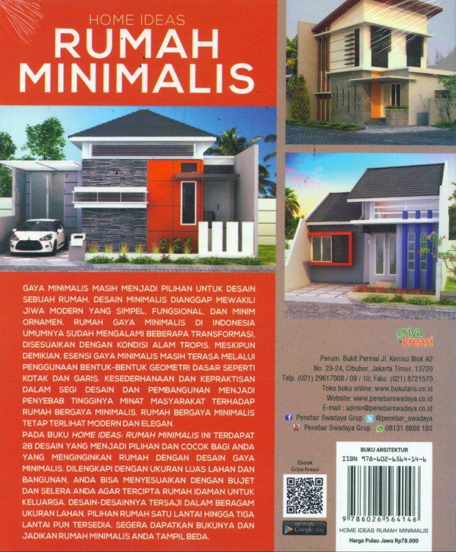 Cover Belakang Buku Home Ideas Rumah Minimalis