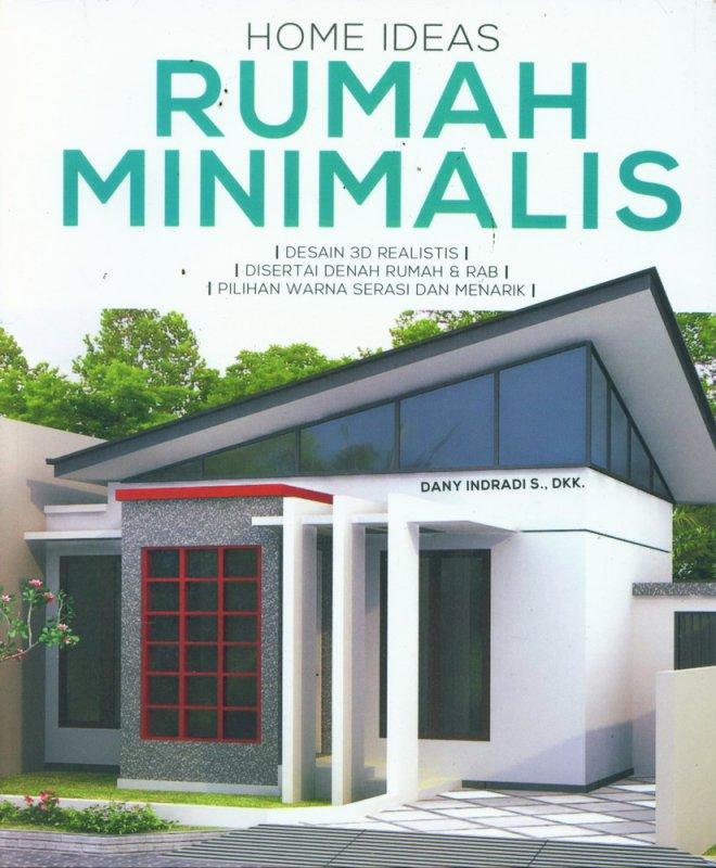 Cover Buku Home Ideas Rumah Minimalis
