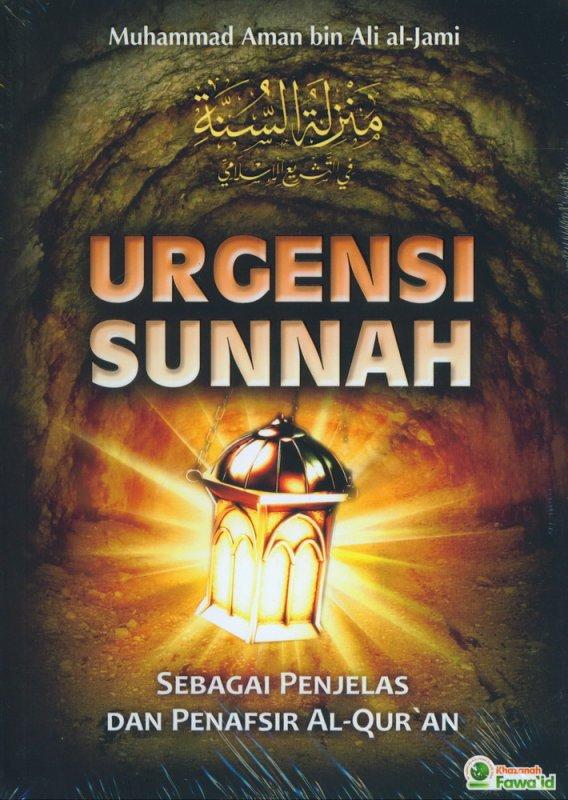Cover Buku Urgensi Sunnah