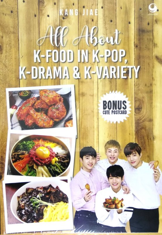 Cover Buku All About K-Food In K-POP, K-Drama & K-Variety