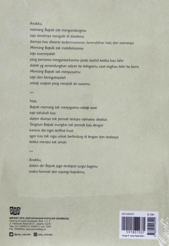 Cover Belakang Buku Bapakku Indonesia