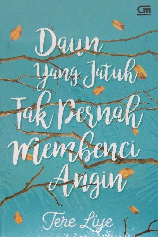 Cover Buku Daun yang Jatuh Tak Pernah Membenci Angin - Cover Baru 2018