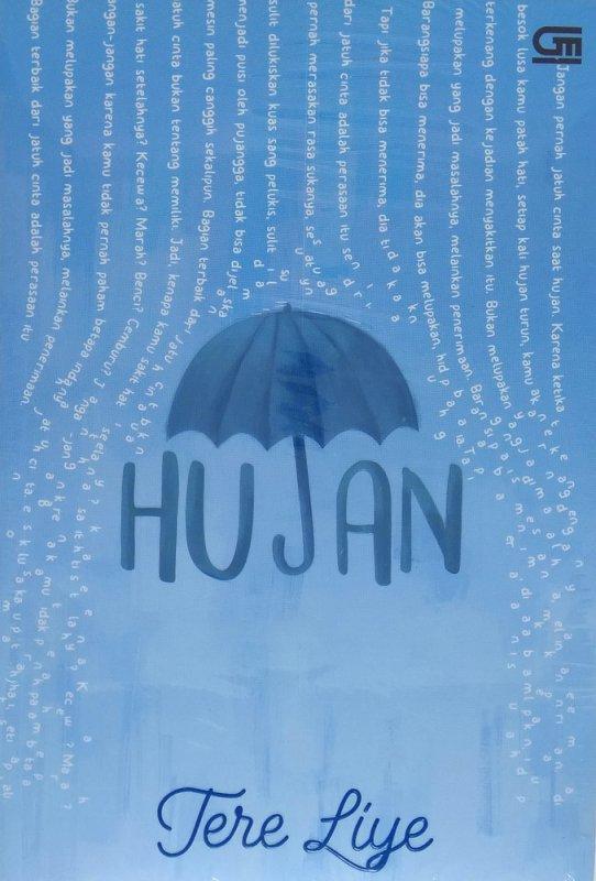 Cover Buku Hujan - Cover Baru 2018