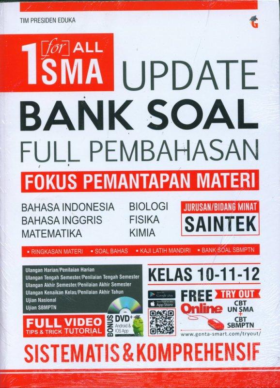 Cover Buku 1 for ALL SMA Update Bank Soal Full Pembahasan Kelas 10-11-12 SAINTEK