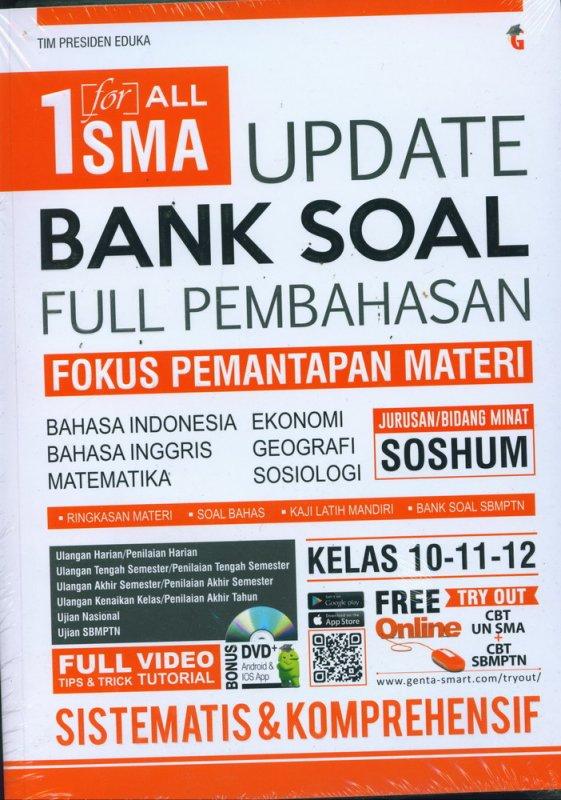 Cover Buku 1 for ALL SMA Update Bank Soal Kelas Full Pembahasan Kelas 10-11-12 SOSHUM