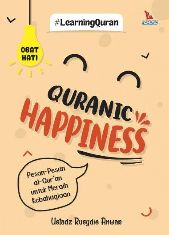 Cover Buku QURANIC HAPPINESS