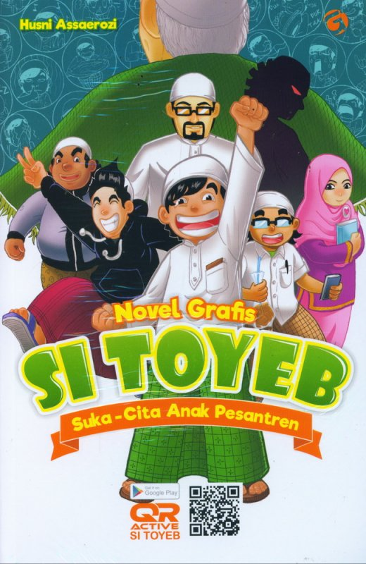Cover Buku Si Toyeb: Suka-Cita Anak Pesantren (Novel Grafis)