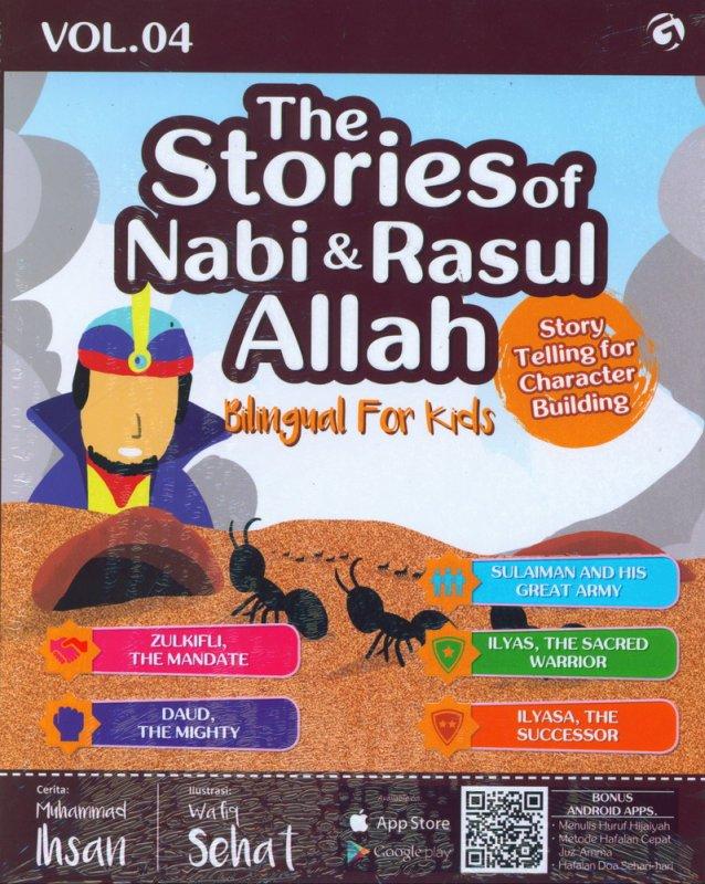 Cover Buku The Stories of Nabi & Rasul Allah Vol. 04 (Bilingual For Kids)