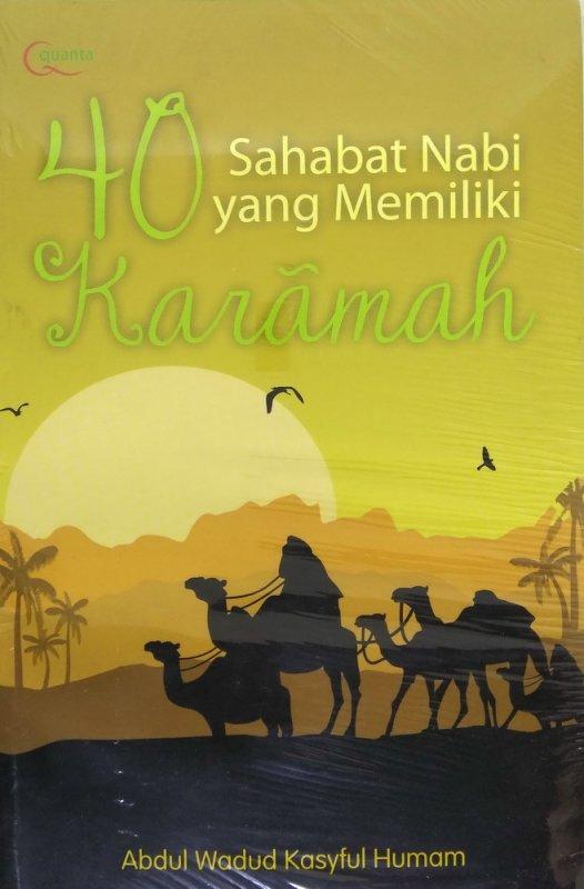 Cover Buku 40 Sahabat Nabi yang Memiliki Karamah