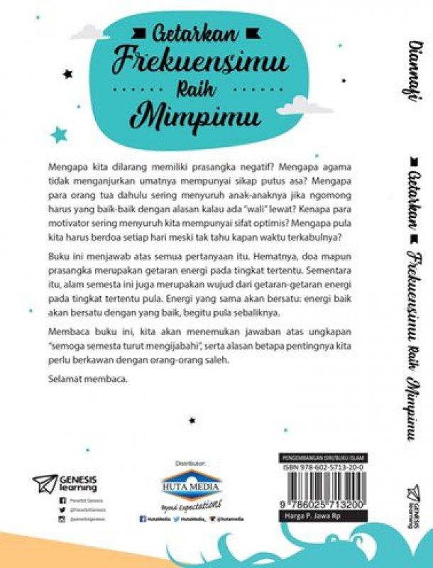 Cover Belakang Buku GETARKAN FREKUENSIMU RAIH MIMPIMU [Diskon 30%]