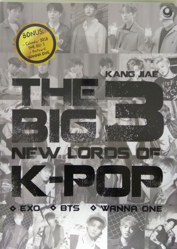 Cover Buku The Big 3 New Lords in K-Pop