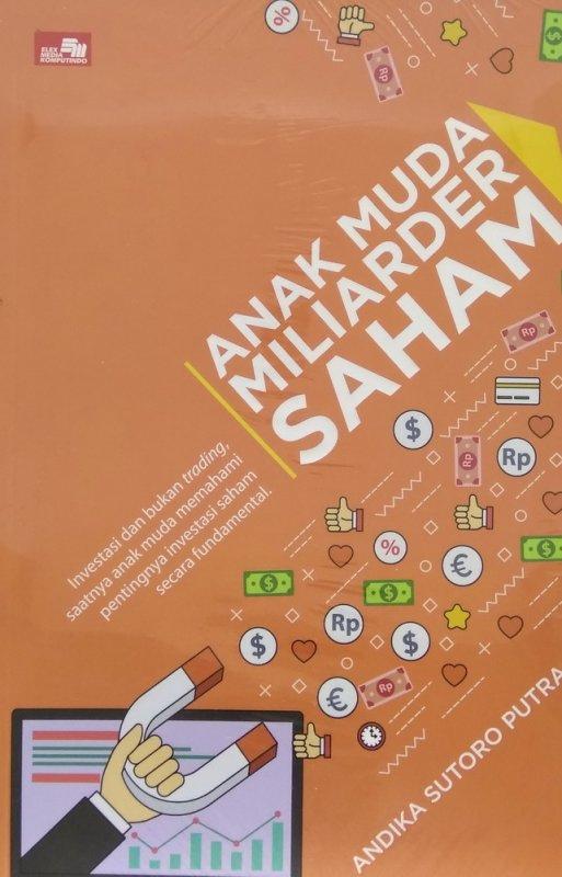 Cover Buku Anak Muda Miliarder Saham oleh Andika Sutoro Putra