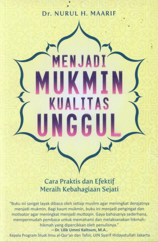Cover Buku Menjadi Mukmin Kualitas Unggul