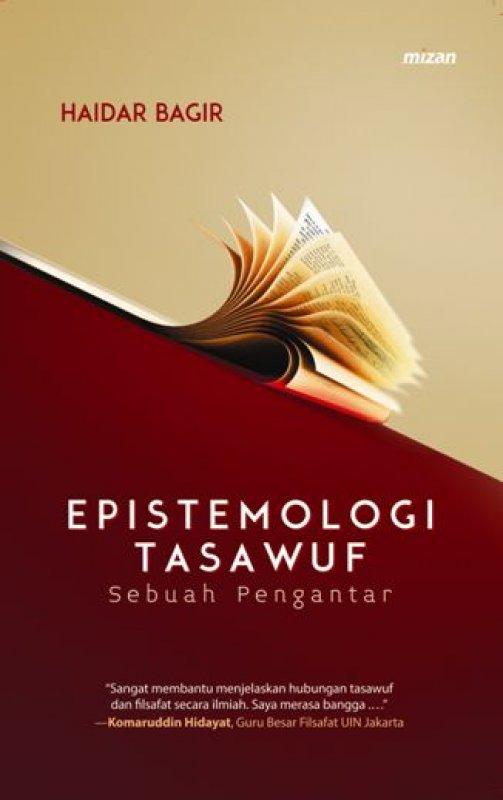 Cover Buku EPISTEMOLOGI TASAWUF Sebuah Pengantar (cover baru)
