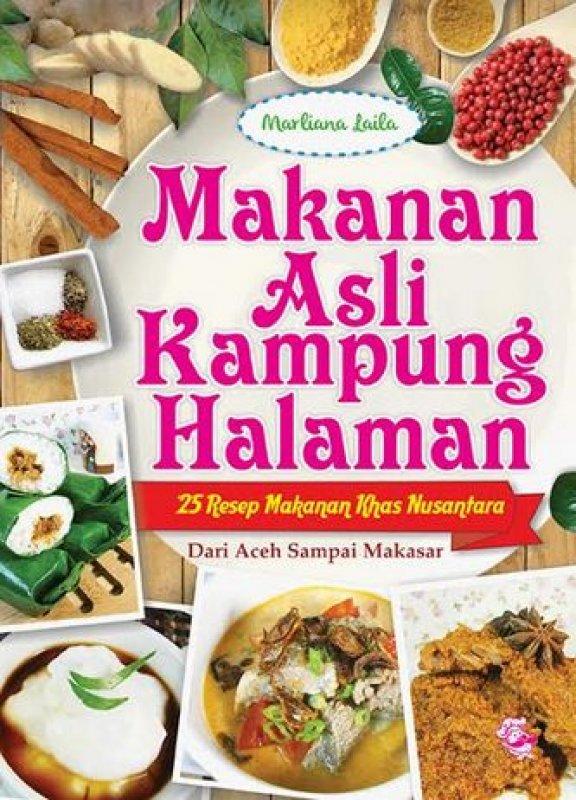 Cover Buku Makanan Asli Kampung Halaman