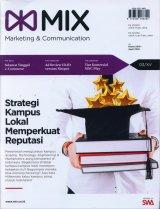 Majalah MIX Marketing Communications Edisi Maret - April  2018