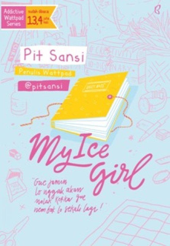 Cover Buku MY ICE GIRL