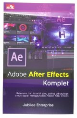 Detail Buku Adobe After Effects Komplet
