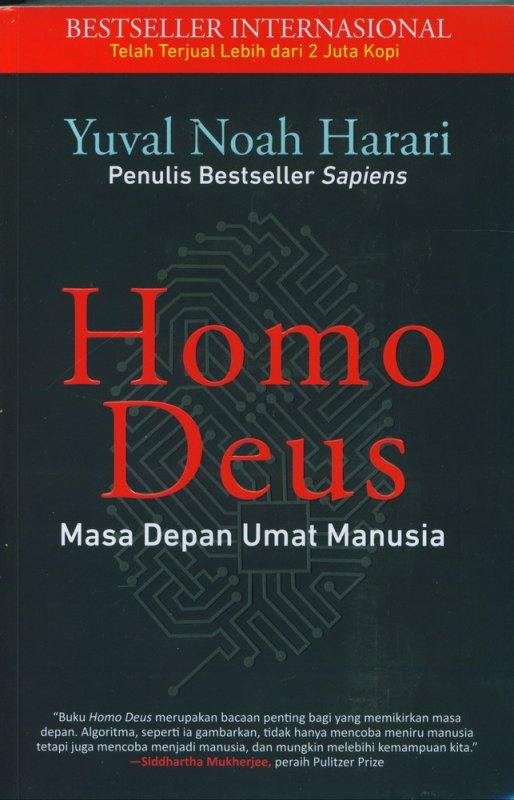 Cover Buku Homo Deus : Masa Depan Umat Manusia