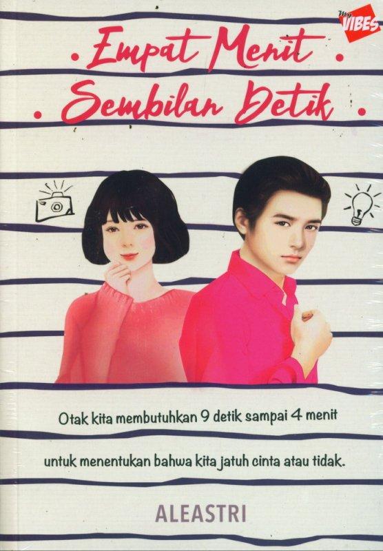 Cover Buku Empat Menit Sembilan Detik