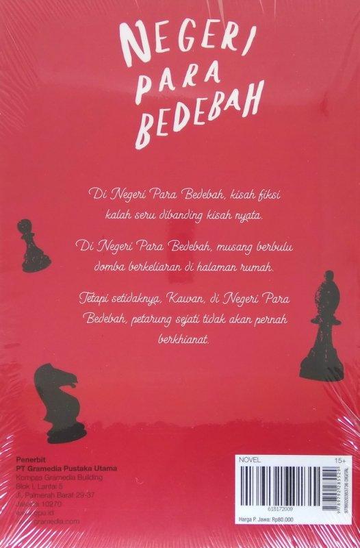 Cover Belakang Buku Negeri Para Bedebah - Cover Baru 2018