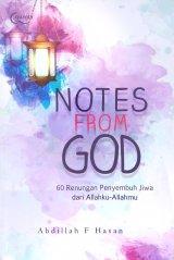 NOTES FROM GOD : 60 Renungan Penyembuh jiwa dari Allahku-Allahmu