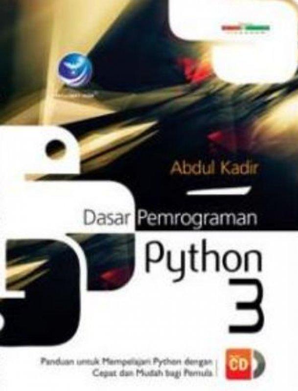 Cover Buku Dasar Pemrograman Python 3 + CD