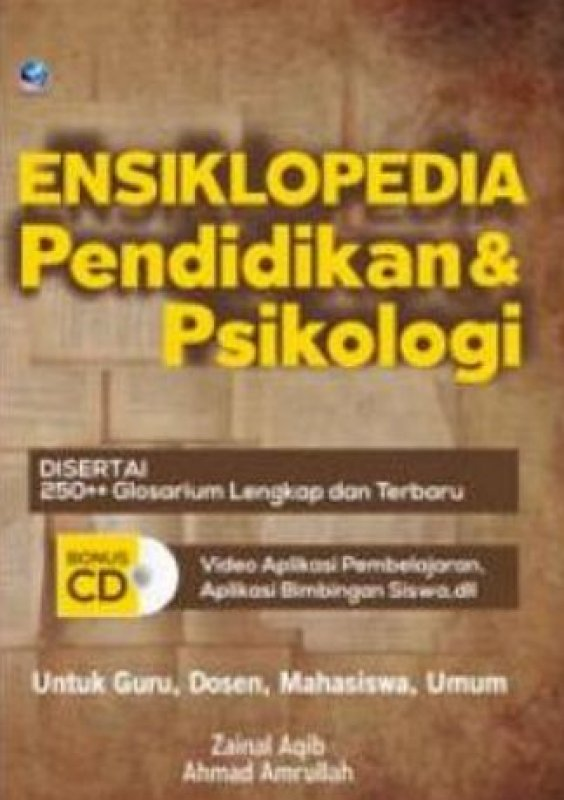 Cover Buku Ensiklopedia Pendidikan Dan Psikologi + CD