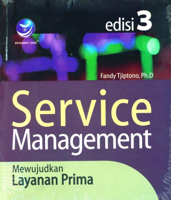 Cover Buku Service Management Mewujudkan Layanan Prima Ed. 3