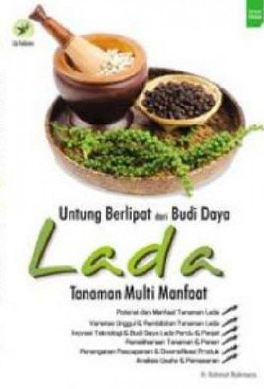 Cover Buku Untung Berlipat Dari Budi Daya Lada Tanaman Multi Manfaat