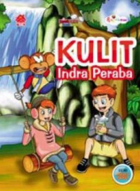 Cover Buku Komik Sains Bocah Pintar: Kulit Indra Peraba