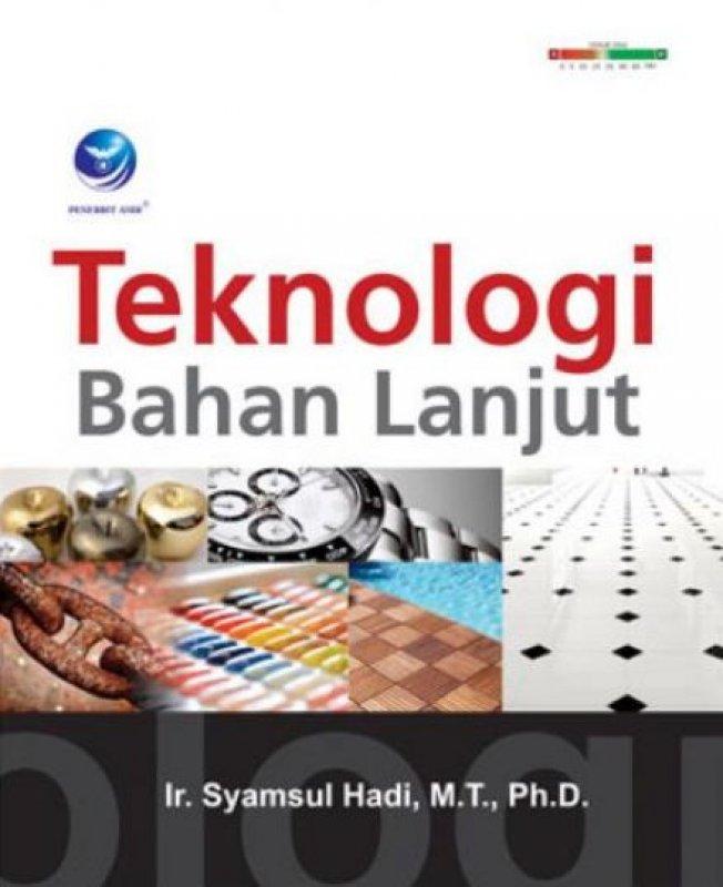 Cover Buku Teknologi Bahan Lanjut
